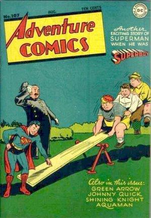 Adventure Comics # 107