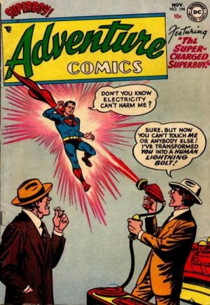 Adventure Comics # 194