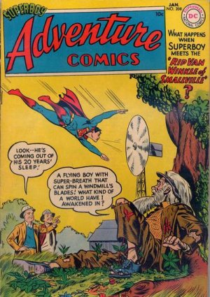 Adventure Comics # 208