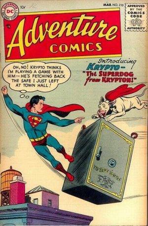 Adventure Comics # 210
