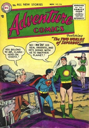 Adventure Comics # 218