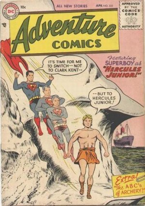 Adventure Comics # 223