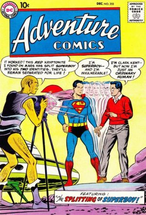 Adventure Comics # 255