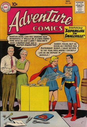Adventure Comics # 278