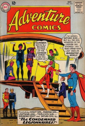 Adventure Comics # 313