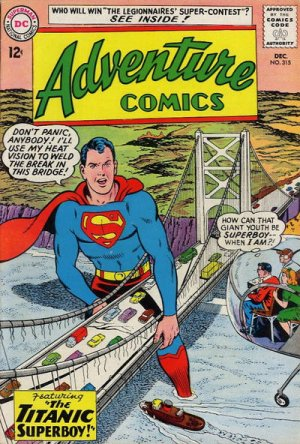 Adventure Comics # 315