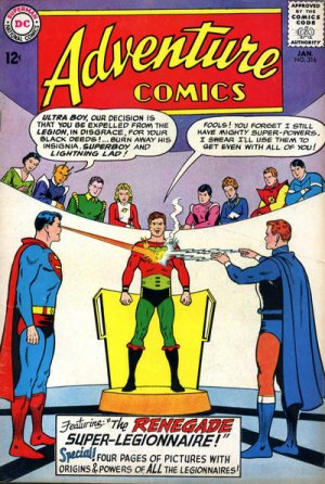 Adventure Comics # 316