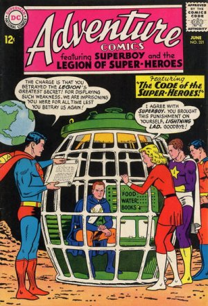 Adventure Comics # 321
