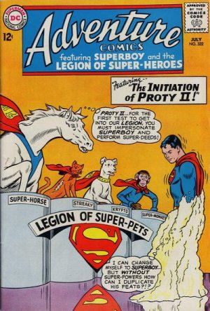 Adventure Comics # 322