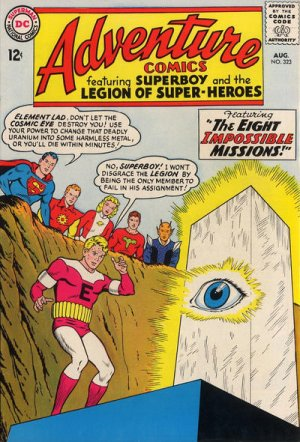 Adventure Comics # 323