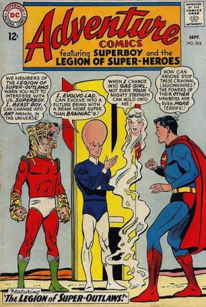 Adventure Comics # 324