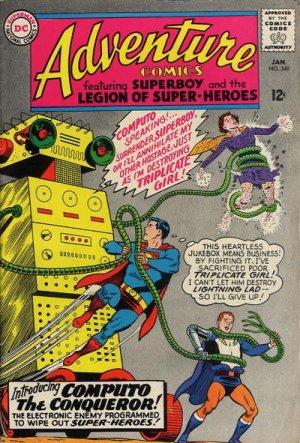 Adventure Comics # 340