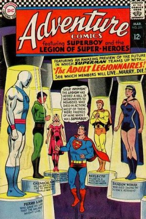 Adventure Comics # 354