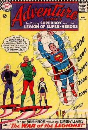 Adventure Comics # 355