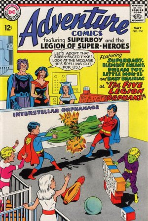 Adventure Comics # 356