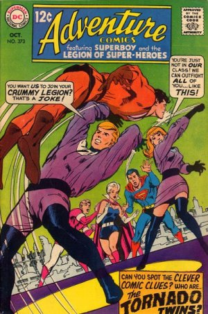 Adventure Comics # 373