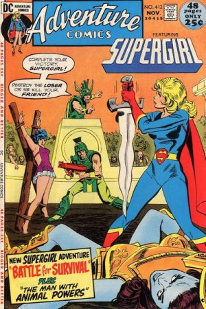 Adventure Comics # 412