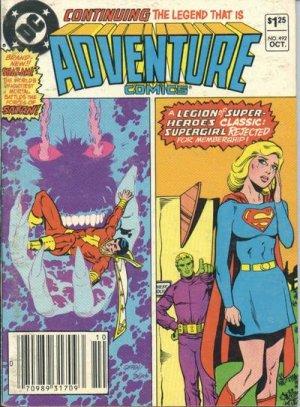 Adventure Comics # 492