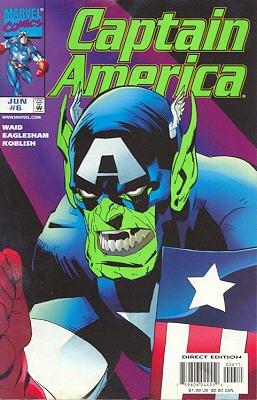 Captain America # 6 Issues V3 (1998 - 2002)