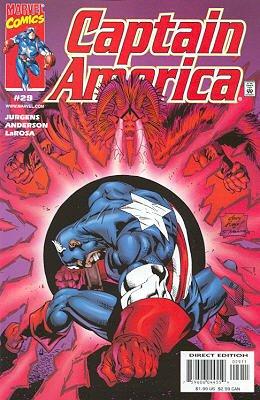 Captain America 29 - The Savage Man