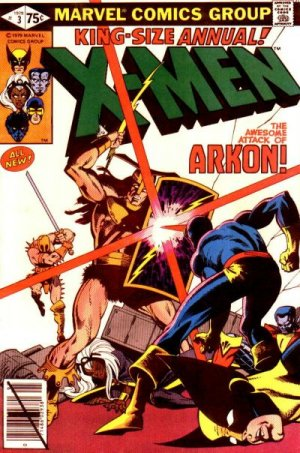 Uncanny X-Men # 3 Issues V1 - Annuals (1970 - 2001)