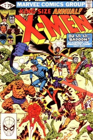 Uncanny X-Men # 5 Issues V1 - Annuals (1970 - 2001)