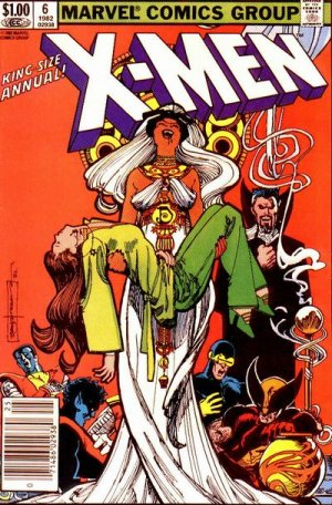 Uncanny X-Men # 6 Issues V1 - Annuals (1970 - 2001)