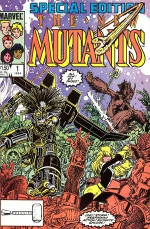 New Mutants Special Edition # 1 Issues