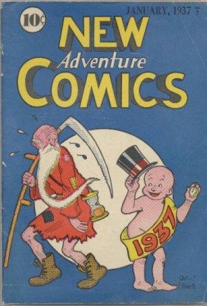New Adventure Comics édition Issues V1 (1937 à 1938)