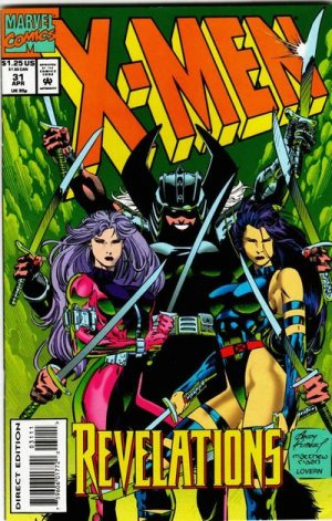 X-Men 31 - The Butterfly and the Hawk