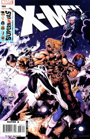 X-Men # 188 Issues V1 - Suite (2004 - 2008)