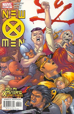 New X-Men 137 - Riot at Xavier's