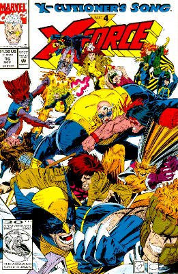 X-Force # 16 Issues V1 (1991 - 2002)