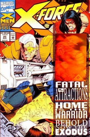 X-Force # 25 Issues V1 (1991 - 2002)