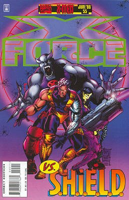 X-Force # 55 Issues V1 (1991 - 2002)
