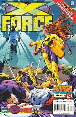 X-Force # 58 Issues V1 (1991 - 2002)