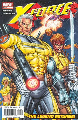X-Force édition Issues V2 (2004 - 2005)