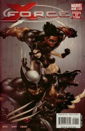 X-Force # 1 Issues V3 (2008 - 2010)