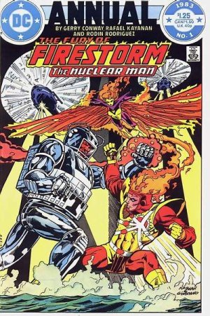 The Fury of Firestorm, The Nuclear Men édition Annuals V1 (1983 - 1986)