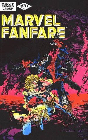Marvel Fanfare # 2 Issues V1 (1982 - 1992)