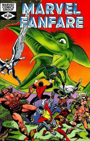 Marvel Fanfare # 3 Issues V1 (1982 - 1992)