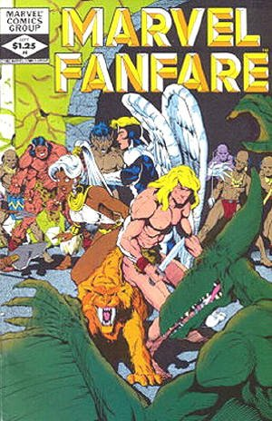 Marvel Fanfare # 4 Issues V1 (1982 - 1992)