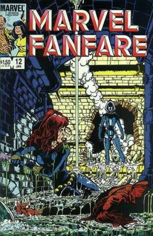 Marvel Fanfare 12 - #12