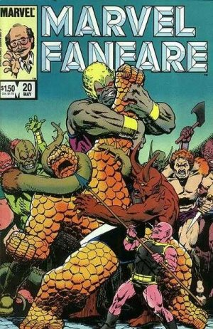 Marvel Fanfare 20 - #20