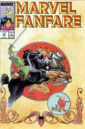 Marvel Fanfare # 34 Issues V1 (1982 - 1992)