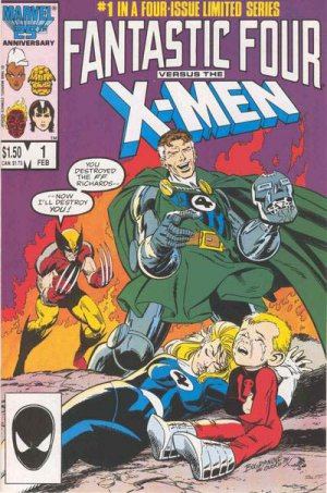 Fantastic Four vs. X-Men # 1 Issues