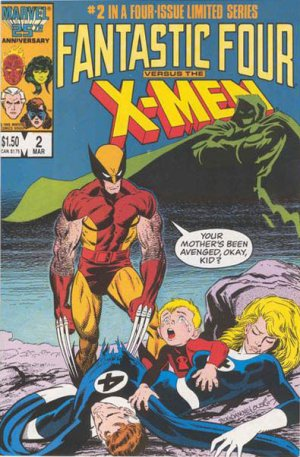 Fantastic Four vs. X-Men # 2 Issues
