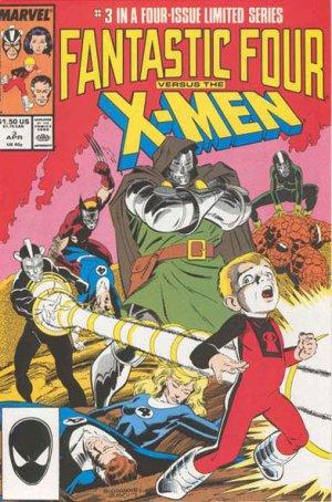 Fantastic Four vs. X-Men # 3 Issues