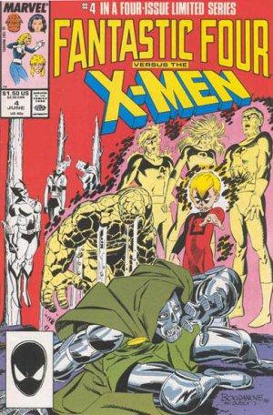 Fantastic Four vs. X-Men # 4 Issues