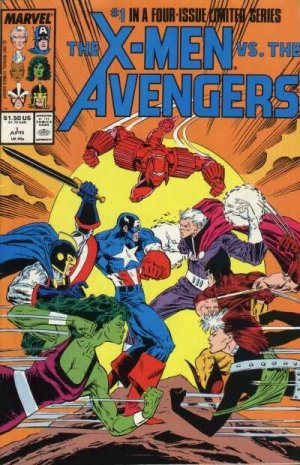 The X-Men vs. the Avengers # 1 Issues